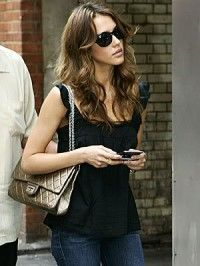 804ea912ff56 Chanel Reissue 227 Flap Bag Size Jessica Alba #chanel #handbags ...