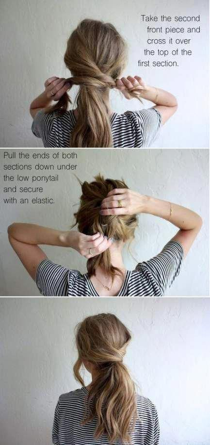 Trendy Frisuren Ideen für mittlere Haare Tutorials schulterlang Ideen #haar #e …