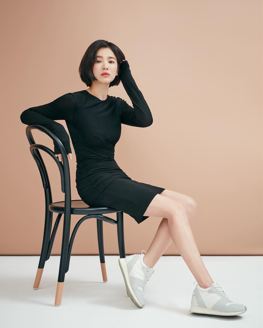 Song hye kyo 2018 | Model pakaian, Song hye kyo, Rambut ...
