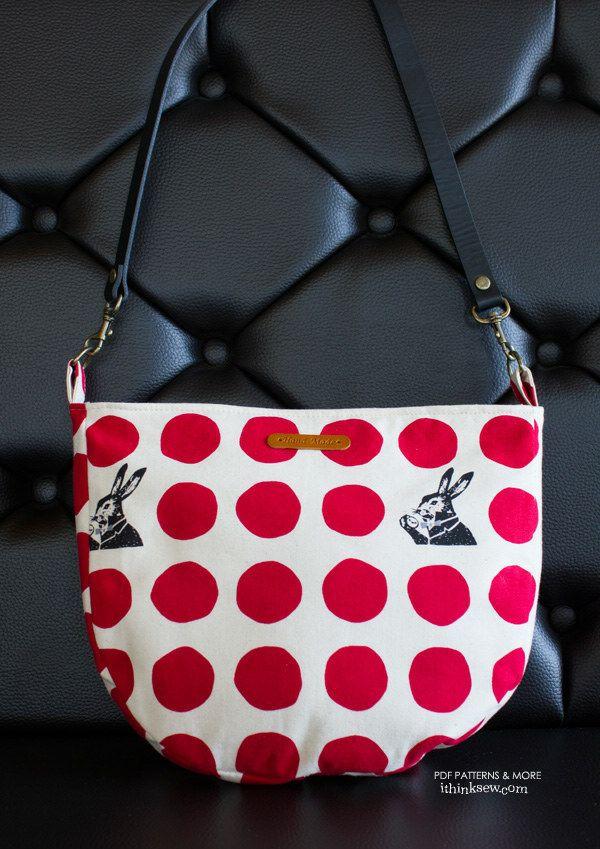 Zoey BAG PDF Pattern | Sewing bags | Pinterest | Nähen schnittmuster ...