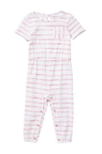 Joe Fresh | Striped Jumpsuit (Baby Girls #nordstromrack