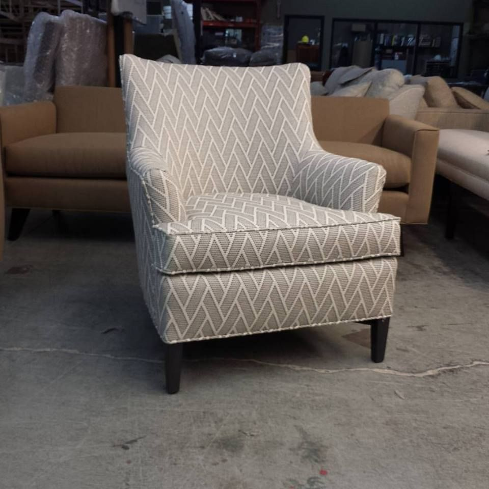 Handsome Waylan Chair In A Gorgeous Barrymore Fabric Off To Ottawa