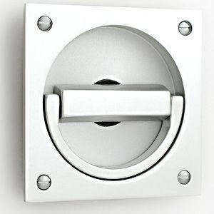 CRIS levier loquet forme en laiton couleur Poignée de porte avec confidentialité Lock
