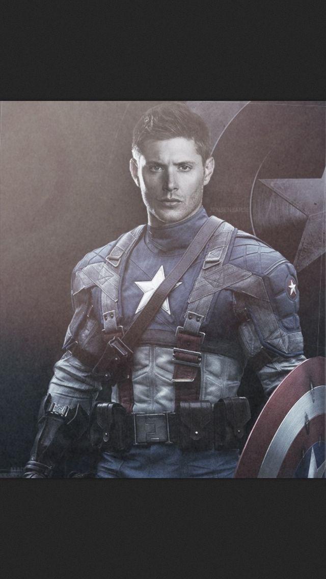 Marvel/ Supernatural: (mashup/crossover/amalgam) Dean Winchester as
