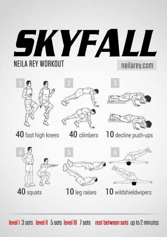 This is a huge series (there's almost 30 more after the jump) of superhero, television, movie and video game inspired workouts designed by fitness blogger Neila Rey. There's something for everyone, she's got Game of Thrones, Avengers, Minecraft, Assassin's...