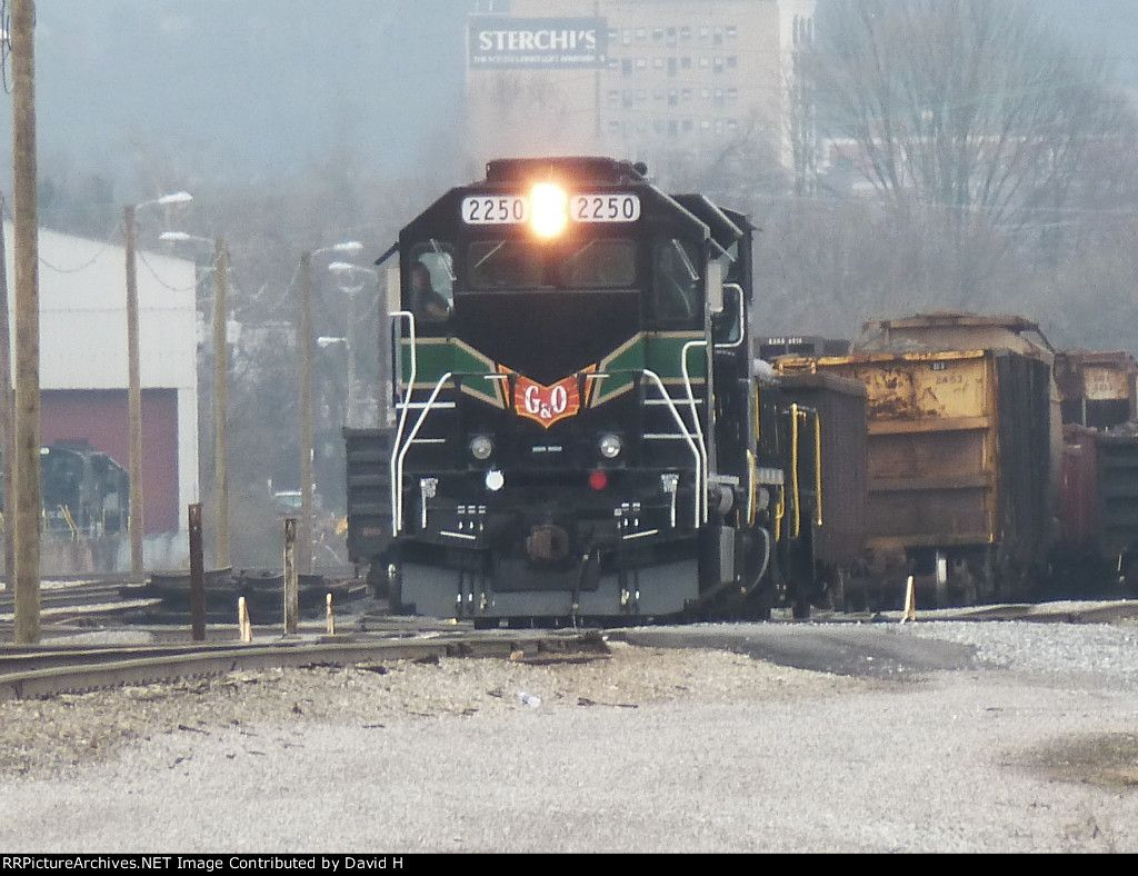 KLWX 2250   Description:  Knoxville Locomotive works KLW20B   Photo Date:  2/29/2012  Location:  Coster Yards, TN   Author:  David H  Categories:  Roster,Yard,Action  Locomotives:  KLWX 2250(KLW20B)