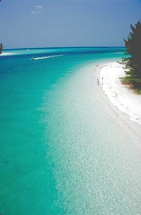 Anna Maria Island Beach In Florida Usa