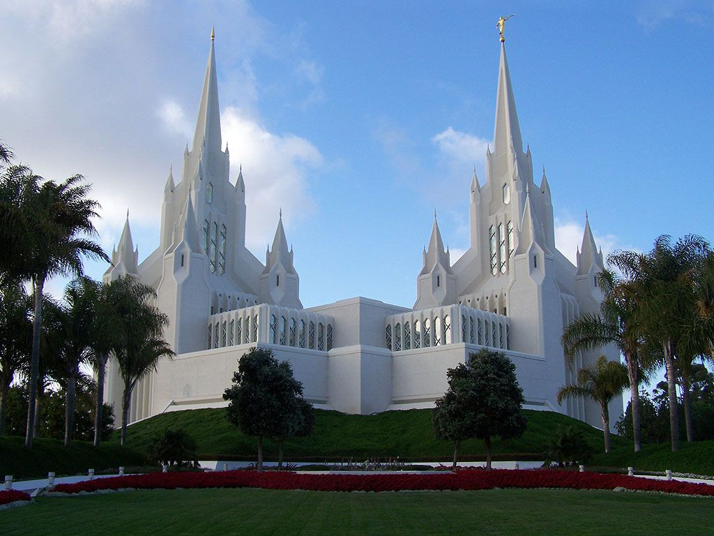 Image Detail For San Diego California LDS Mormon Temple Wallpaper Download