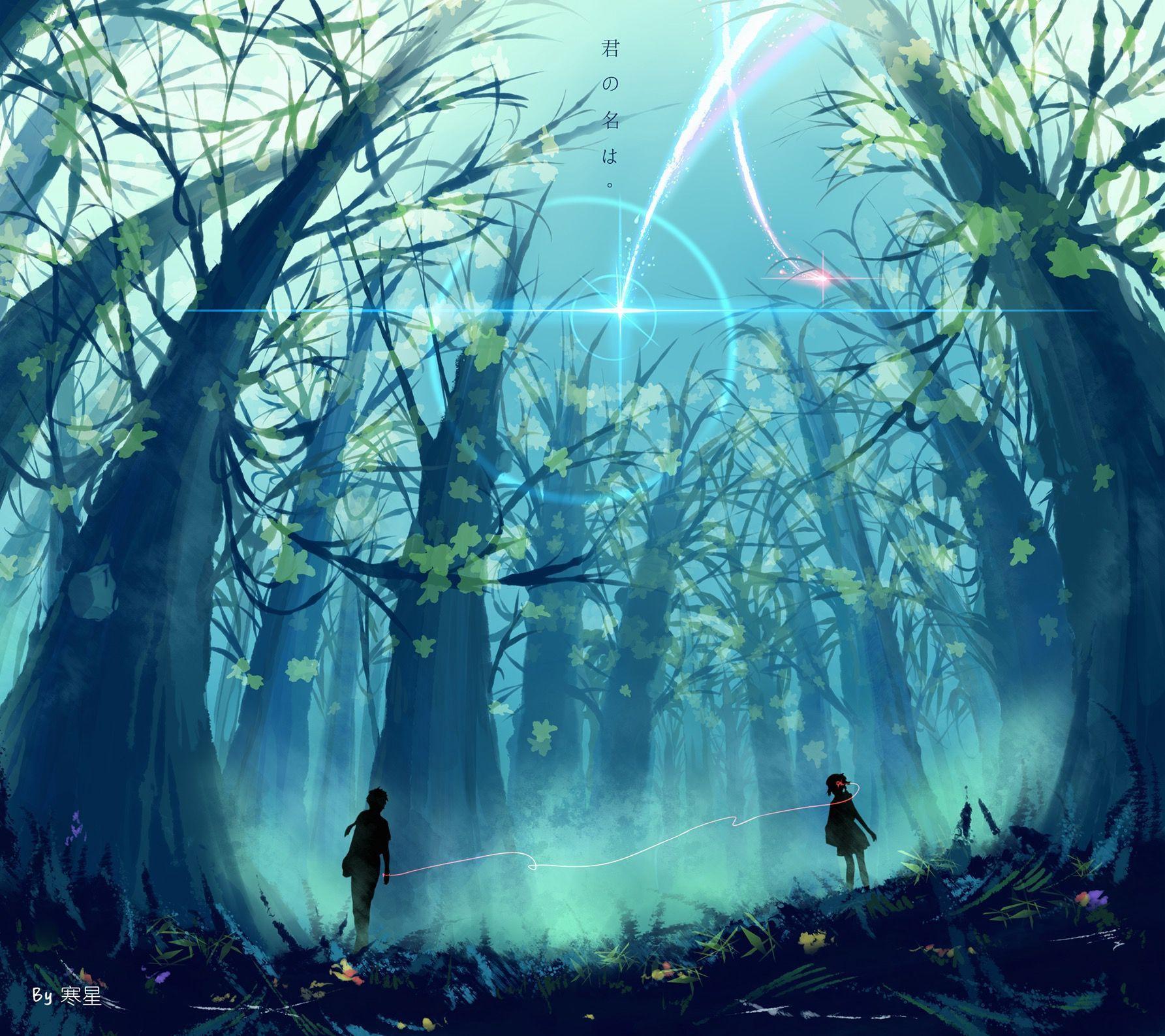 Kho ảnh Kimi No Nawa (Your Name) 1. Anime (Có hình ảnh