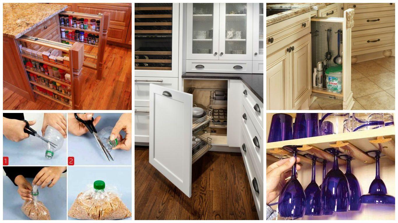 Küche ideen platz raum  jednoduchých a lacných nápadov ako zlepšiť organizáciu a úložný