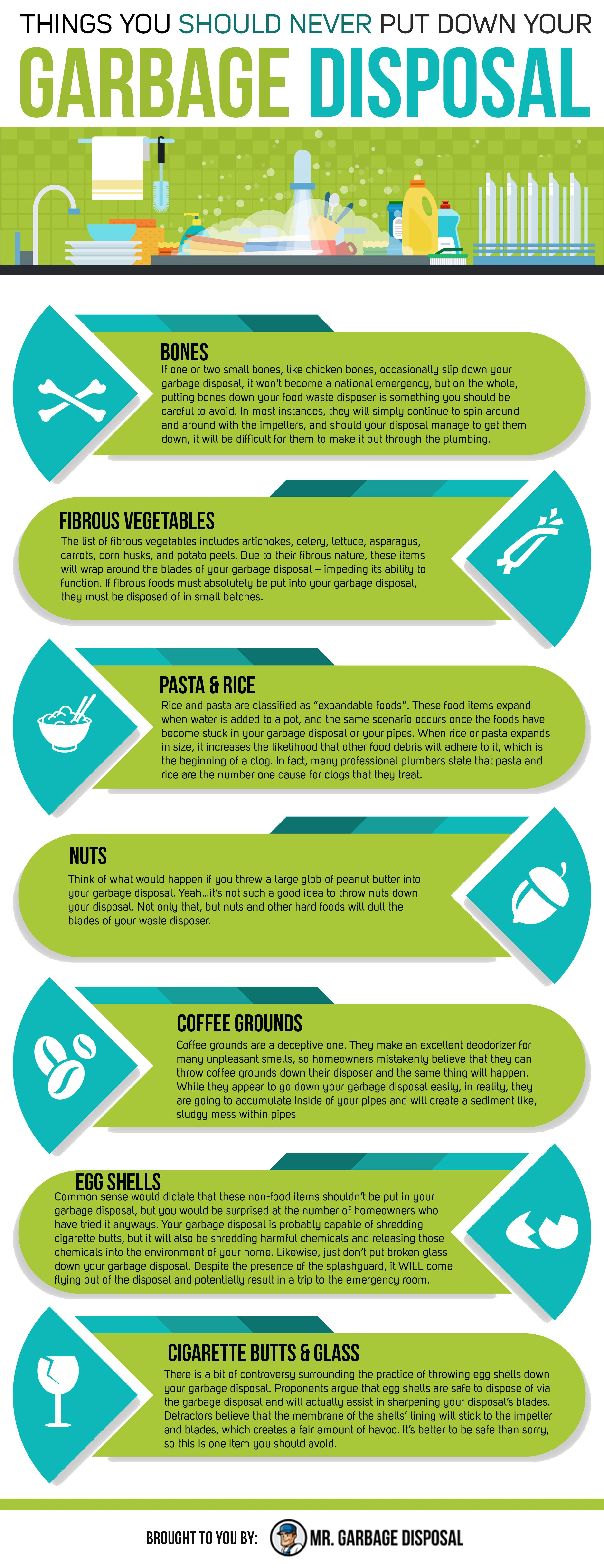 What Foods Are Safe To Put In A Garbage Disposal 2020 Garbage
