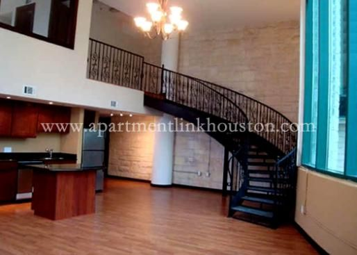 Houston Downtown High Rise Apartment Lofts For Rent Bagby