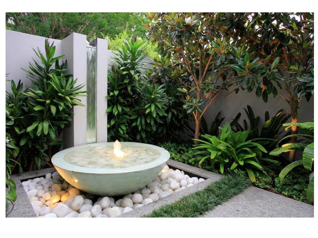 Inspiring Small Garden Water Features Ideas Courtyard Gardens