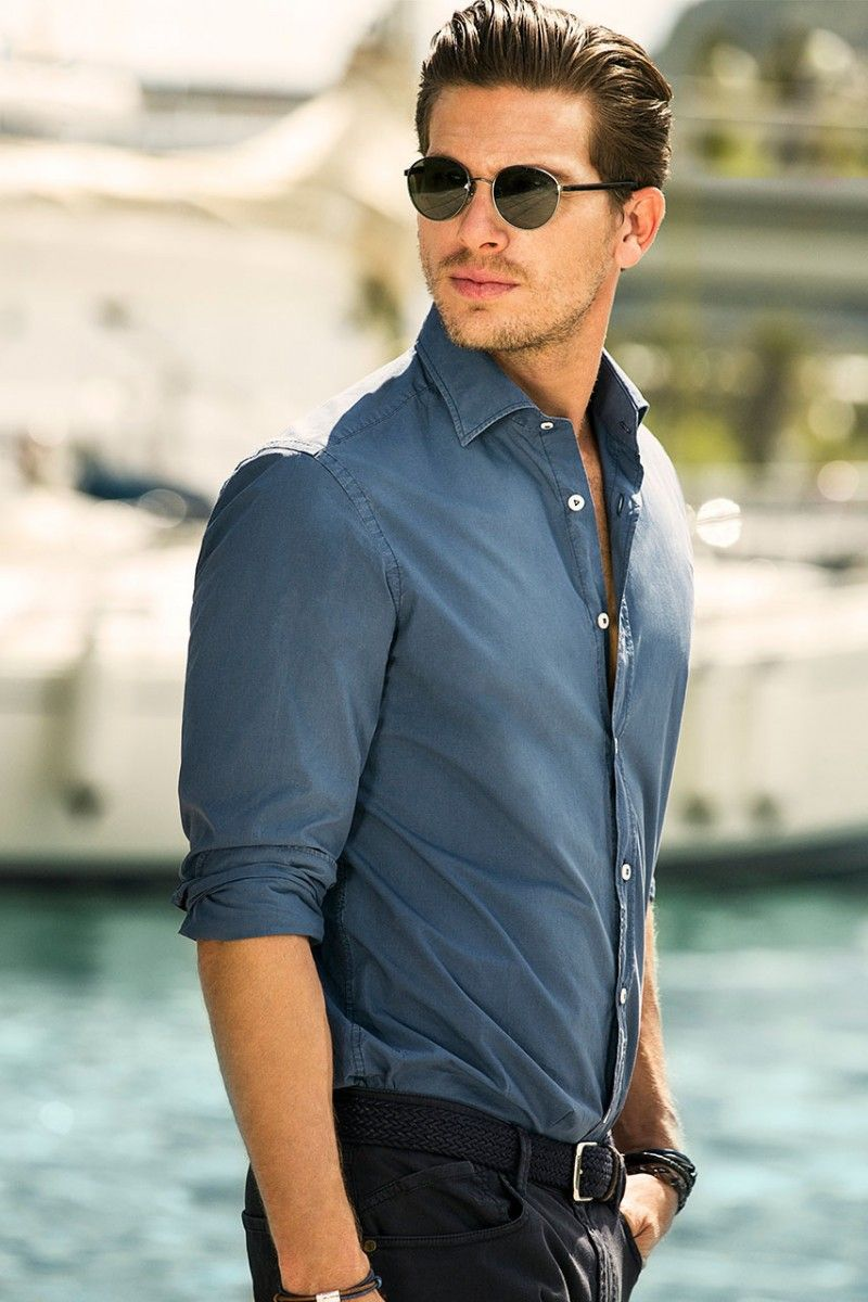 Adam Senn Sails in Style for Massimo Dutti's June 2013 Lookbook