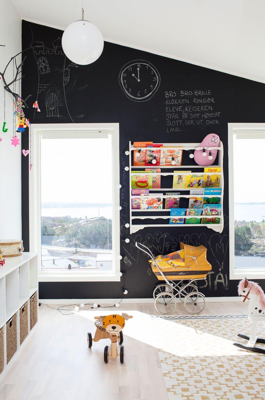 7 Kids Rooms With Fun Chalkboard Walls Kid Room Decor Kids Room