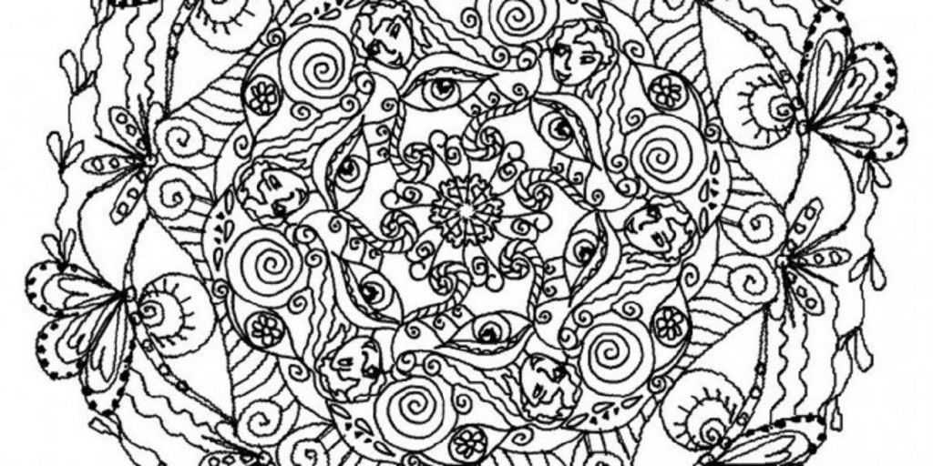 really hard mandala coloring pages | Design | Pinterest | Mandala ...