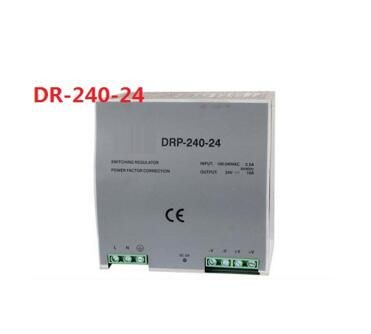 Din rail type 240W 24v 10A single output switching power