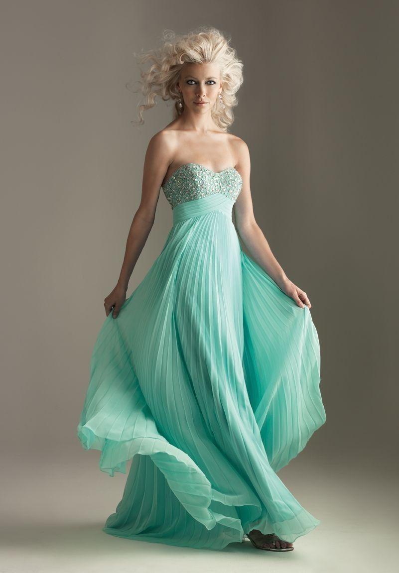 Long Formal Dresses | ... Strapless Sweetheart Empire Long Prom Dress - Prom - WHITEAZALEA.com