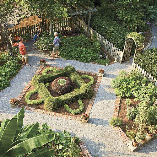 Potager Garden Design Ideas: Pretty Vegetable Garden