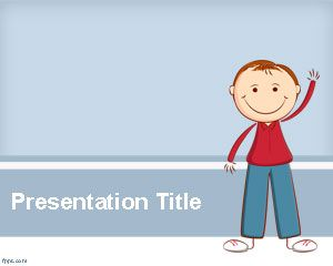 Child Psychology PowerPoint Template Is A Free Psychology PowerPoint - Powerpoint templates for children