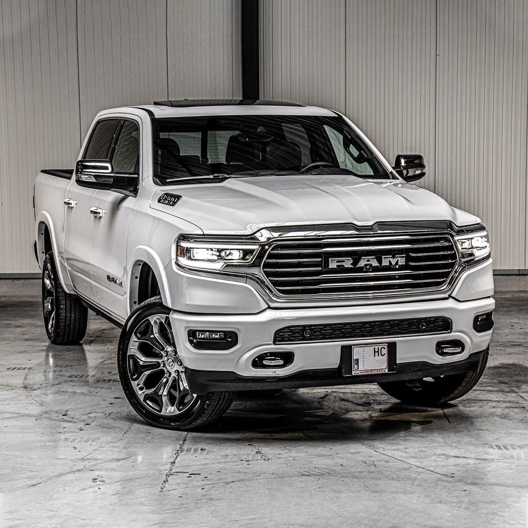 What Do You Guys Think About This 2019 Ram 1500 Longhorn Ivory Tri Coat Pearl Let Us Know 20 Dodge Ram Longhorn Ram Trucks 1500 2019 Ram 1500