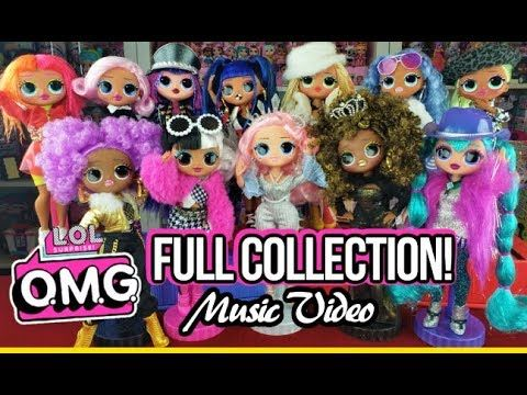 Lol Surprise Omg Fashion Dolls Full Collection Lol Winter Disco More Youtube Lol Dolls Fashion Dolls Doll Drawing