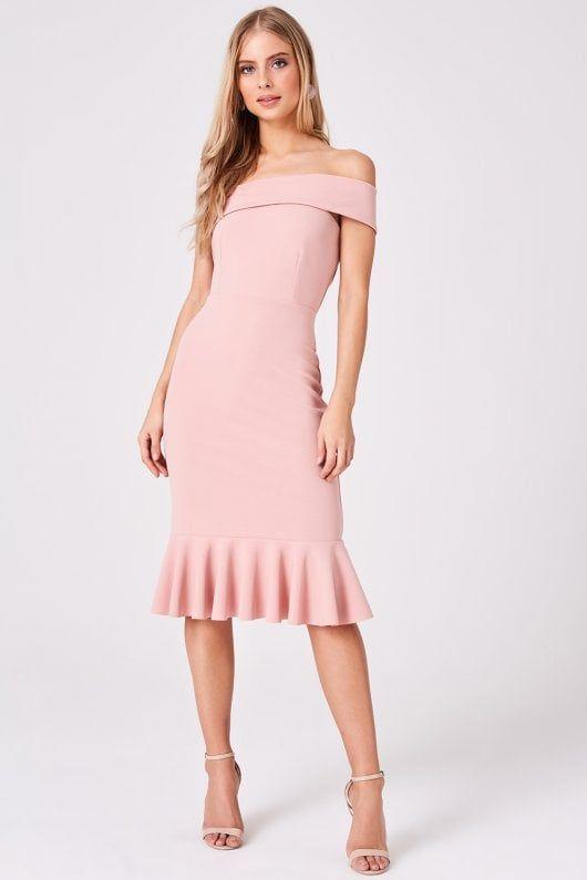 6b9f5bc81b2 Girls on Film Verge Pink One-Shoulder Bodycon Dress - Girls On Film from Little  Mistress UK