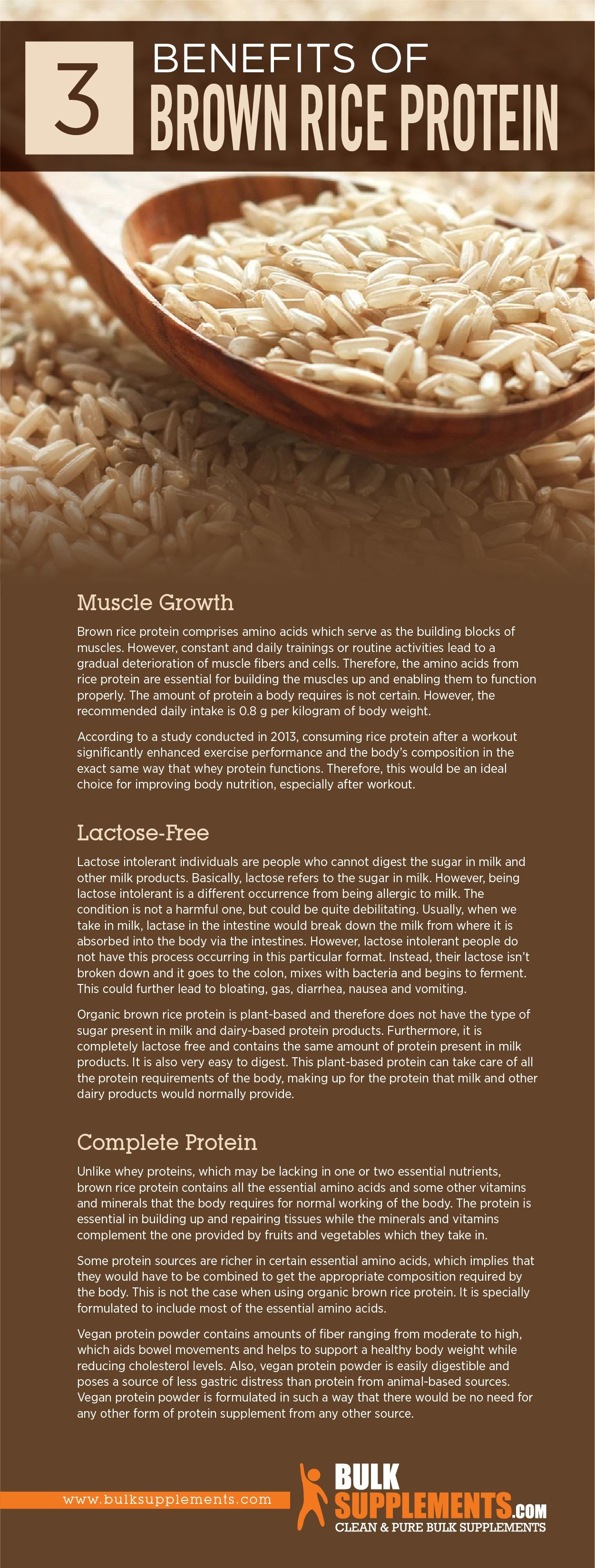 Brown Rice Protein: Benefits, Side Effects & Dosage ...