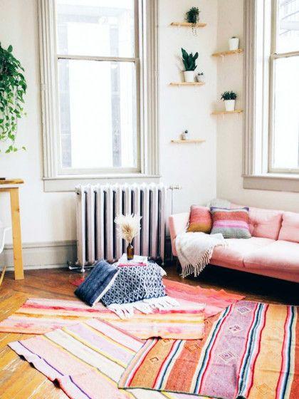 Interior-Trend 2017 Teppich Layering Teppiche, Trends und Wohnen - einrichtung mit exotischer deko altbau