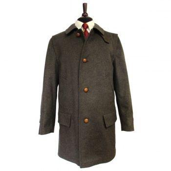 9dea28af05274 Salko of Austria Loden Field Coat - Strada - Brown | Menswear | Coat ...