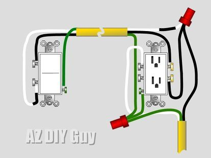 Wiring a Split, Switched Receptacle. | power supply | Home ... on