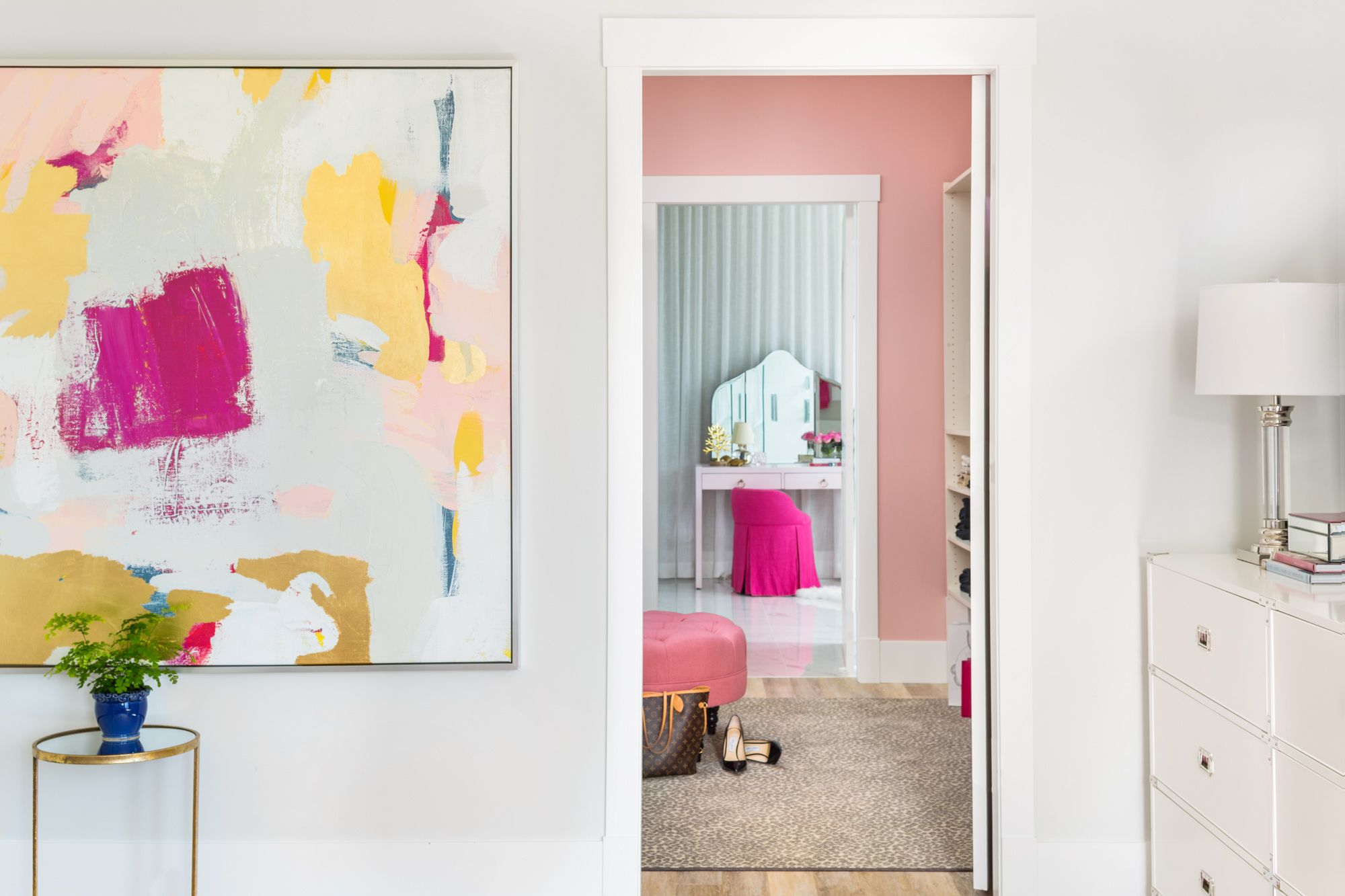 Master bedroom ensuite  Pink and Navy Master Bedroom  Ensuite Before u After  bathrooms