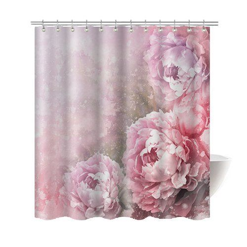 Trump Home Bedminister Scroll Shower Curtain In Flint Grey