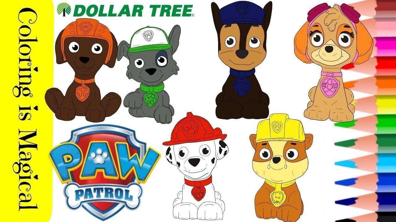 Paw Patrol Coloring Paw Patrol Coloring Pages Dollar Tree Haul Paw Patrol Paw Patrol To Ausmalbilder Ausmalbilder Kinder Malvorlagen Fur Kinder