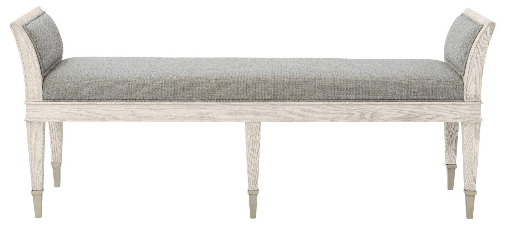 Domaine Upholstered Bench Living Room Bench Upholstered Bench Bedroom Bench #upholstered #bench #for #living #room