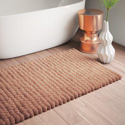 Mercury Row Mcneel Handloom Bath Rug Color Beige Size 50 X 30