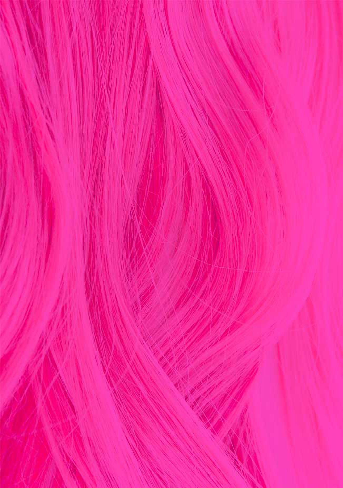 Uv Reactive 310 Neon Pink Hair Dye Pink Hair Dye Neon Hair