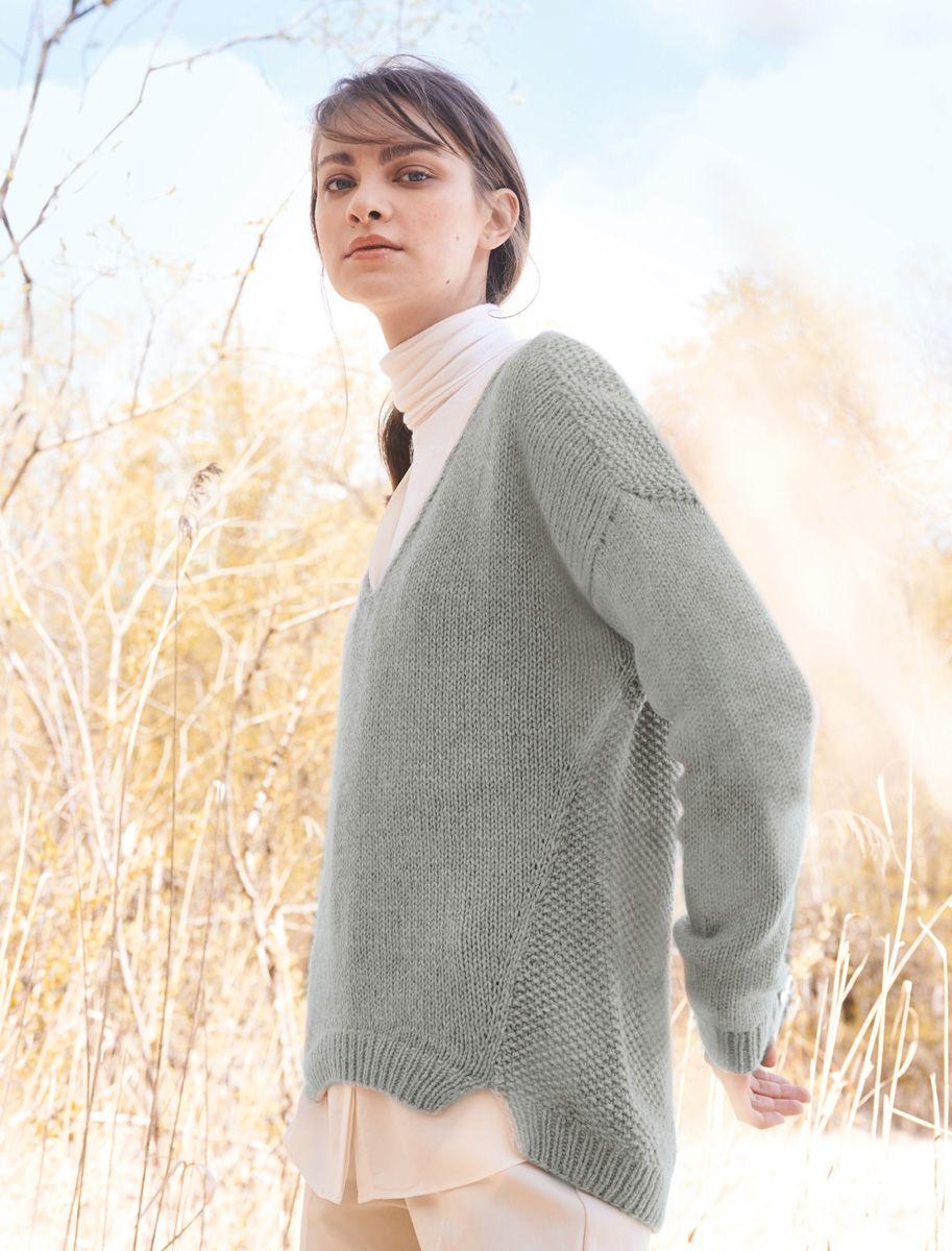 Pullover Seventyfive Pullover Stricken Anleitung Oversize Look