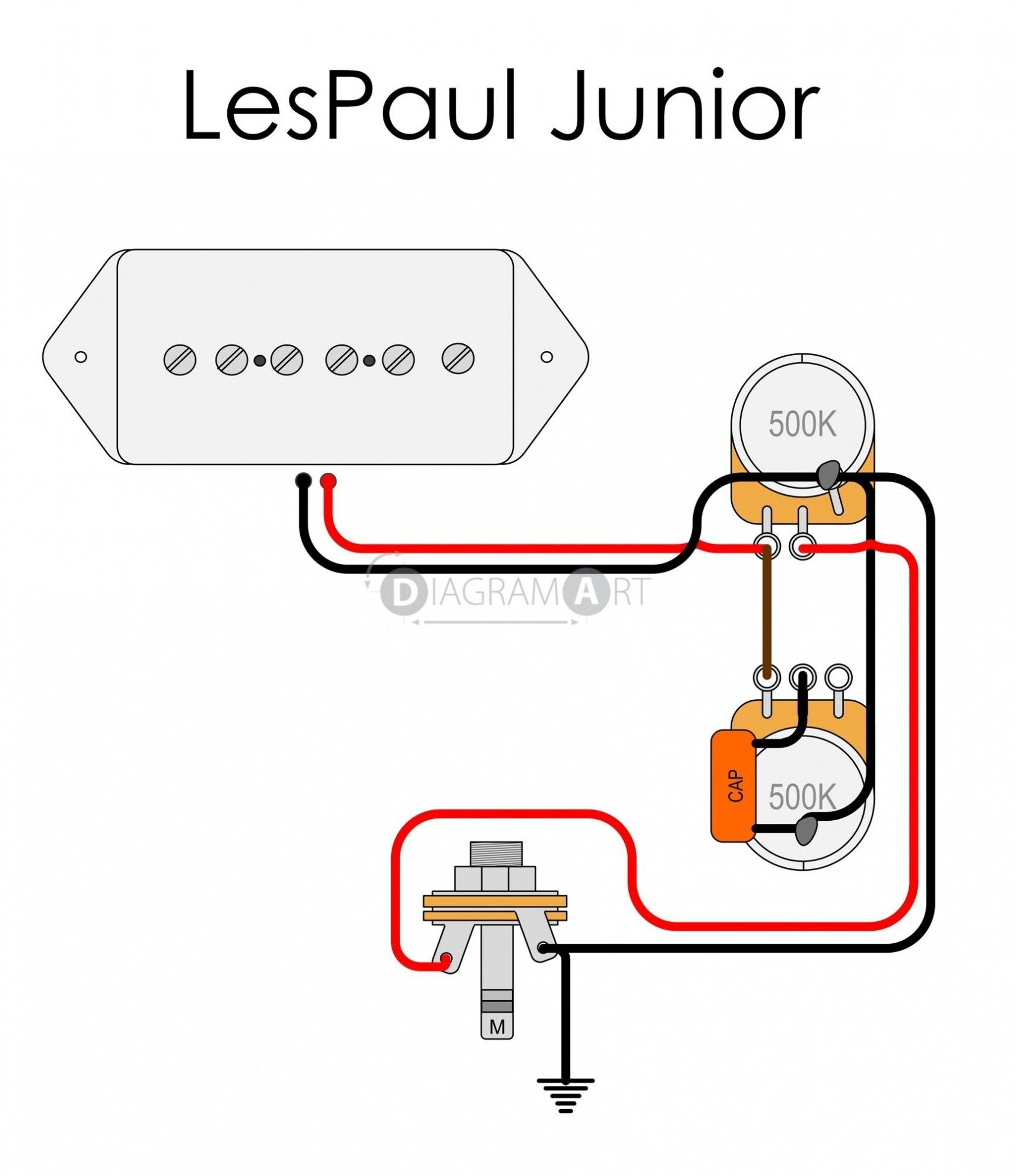 unique wiring diagram for one pickup guitar #diagram #diagramsample  #diagramtemplate #wiringdiagram #diagramchart #workshee… | epiphone les paul,  les paul, epiphone  pinterest