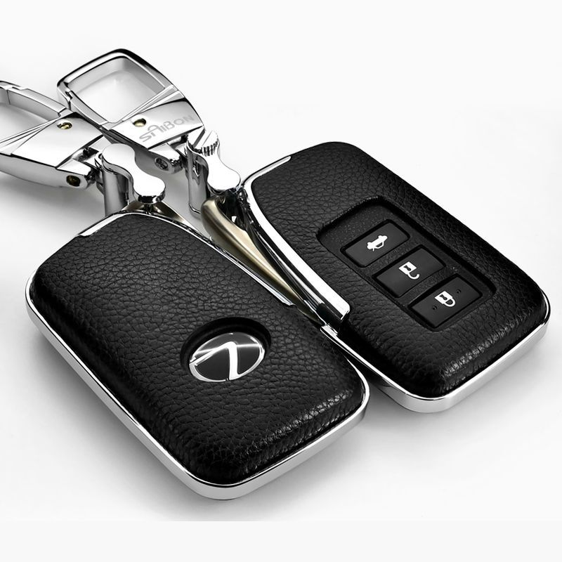 Leather Car styling Key Cover Case For Lexus NX GS RX IS ES GX LX RC ...