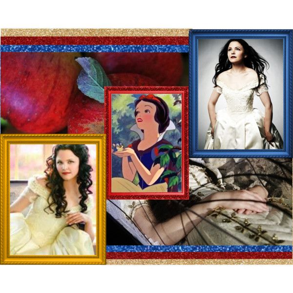 """""""Disney Dreamcast: Ginnifer Goodwin as Snow White"""" by amarie104 on Polyvore"""