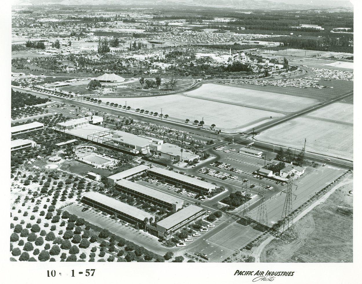 Disneyland Aerial View