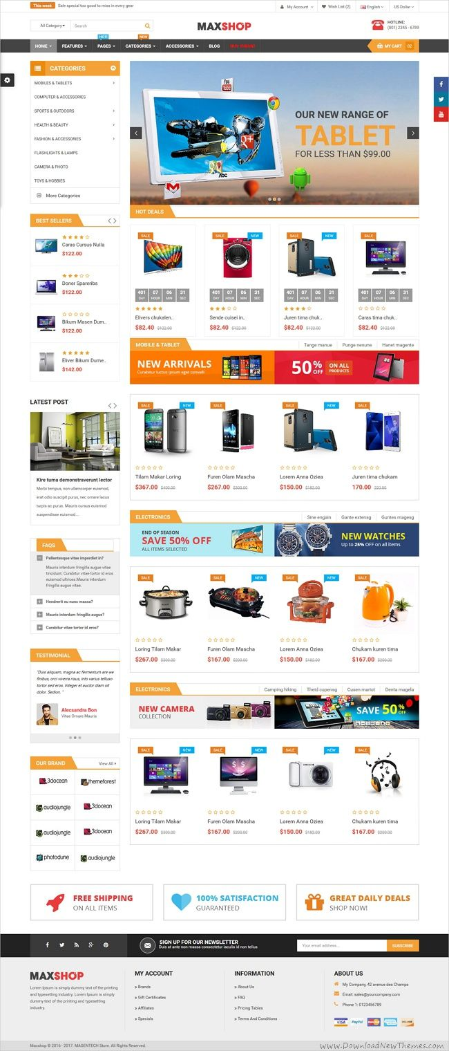 Pin By Web Design Inspiration On Free Bootstrap Themes Collection