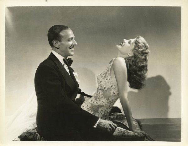 """""""You Were Never Lovelier"""" (1942) / Columbia Pics  Directed By: William A. Seiter Starring: Fred Astaire, Rita Hayworth"""