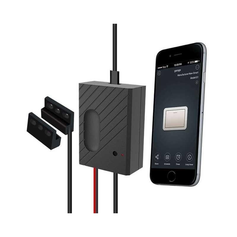 Lonsonho Wifi Smart Garage Door Opener Remote Control Diy Replay Switch Works With Alexa In 2020 Smart Garage Door Opener Garage Door Opener Remote Garage Door Remote