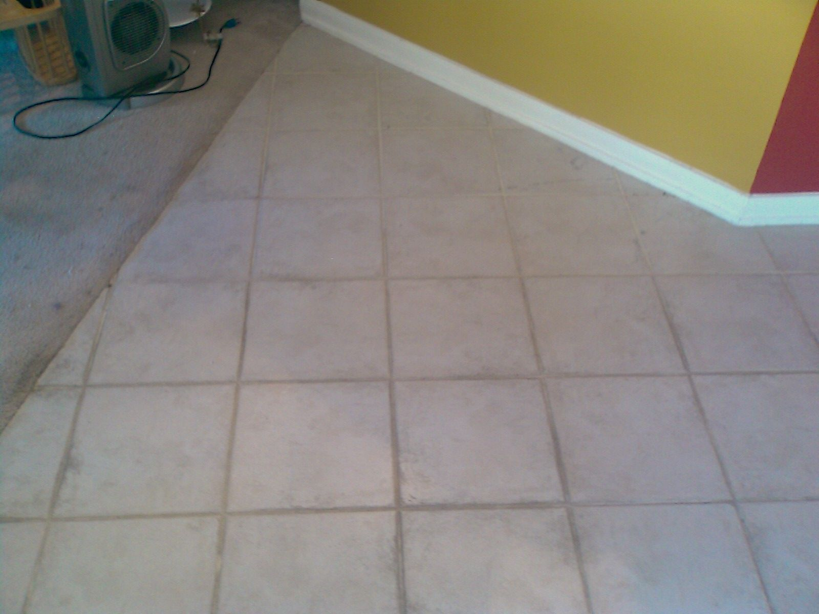 Sometimes Grout Stains Are Permanent Color Sealant To The Rescue