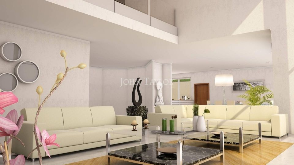 Contemporary Villa - Living Area