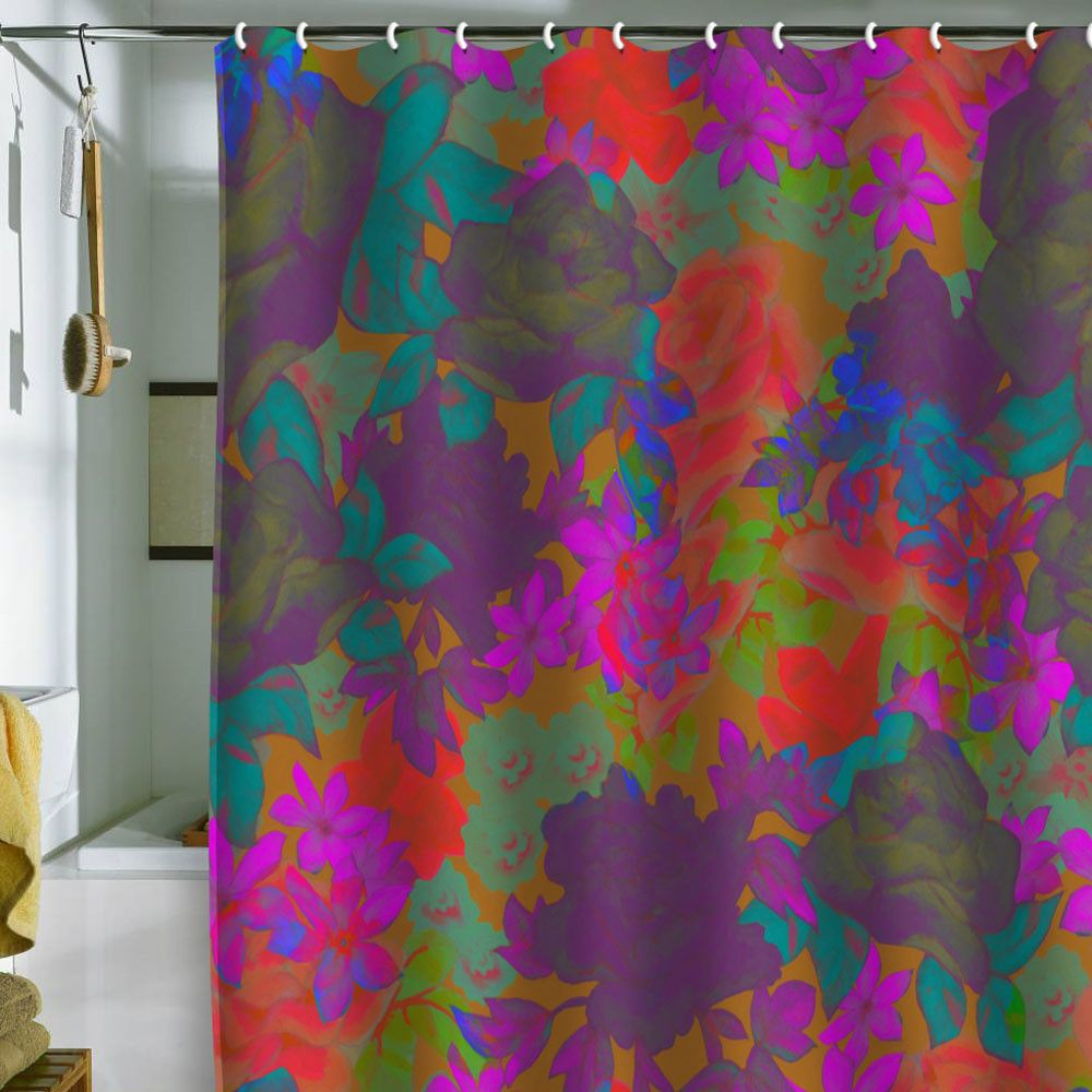The 25 Best Floral Shower Curtains Ideas On Pinterest