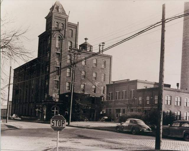HOPS TO IT: This photo of Friars Ale Brewing Co. on River Street in Port Huron comes from 1945 or 1946. The site now occupied is by the main Port Huron fire station.