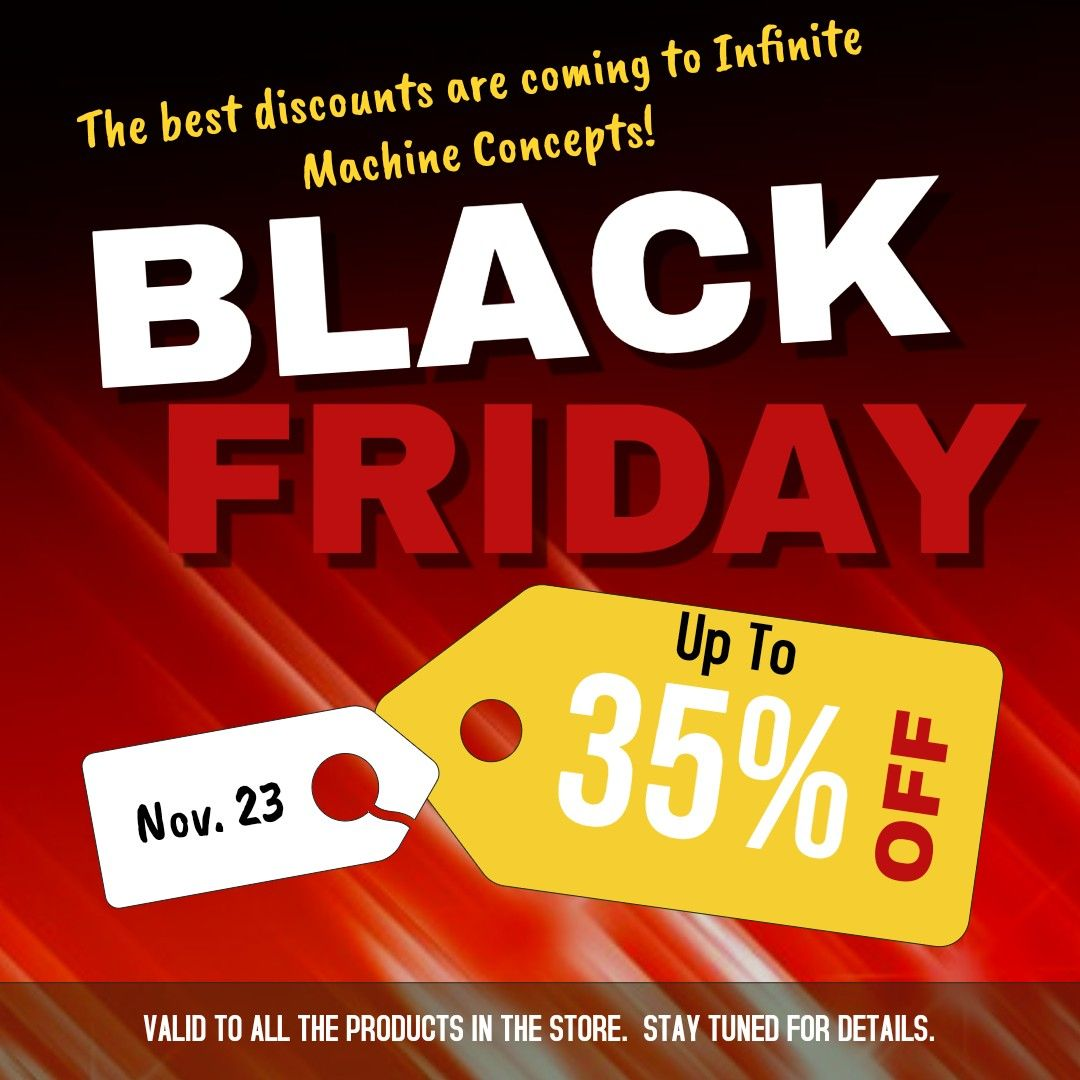 HUGE Sale on all our products! Black friday flyer, Black